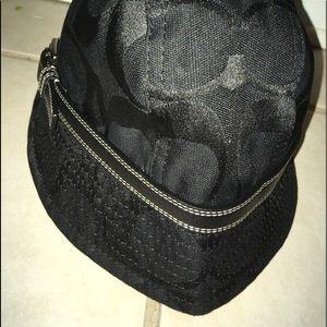Classy Black Signature Coach Bucket Hat